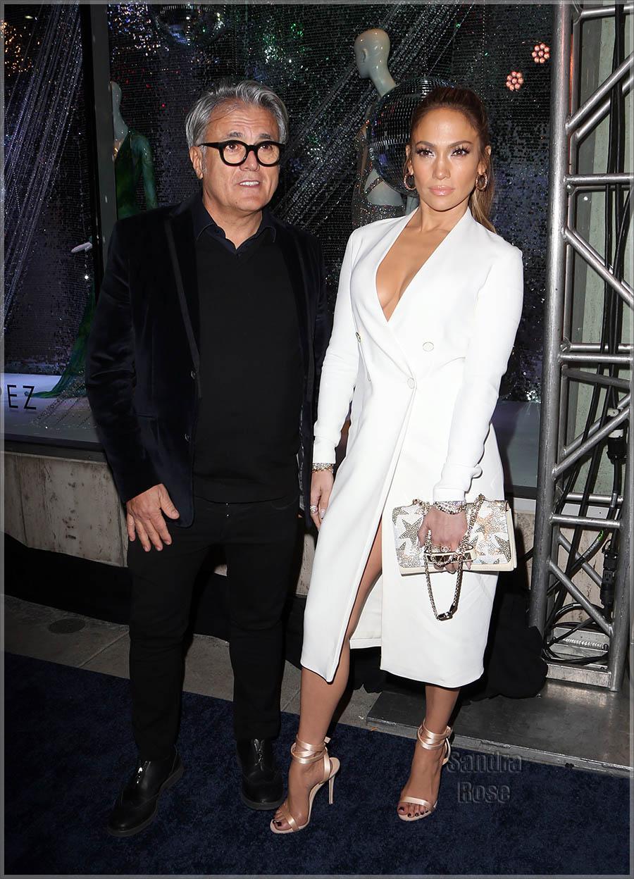 Jennifer Lopez And Giuseppe Zanotti