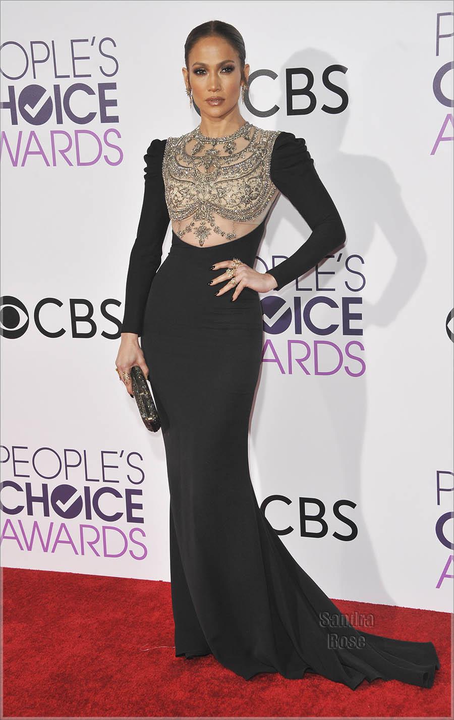 Jennifer Lopez in Los Angeles