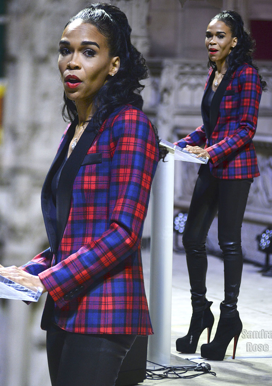 Michelle Williams in New York