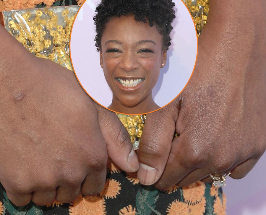 Samira Wiley hands