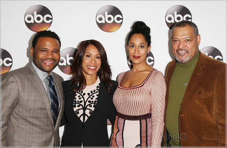Anthony Anderson, Tracee Ellis Ross in Pasadena