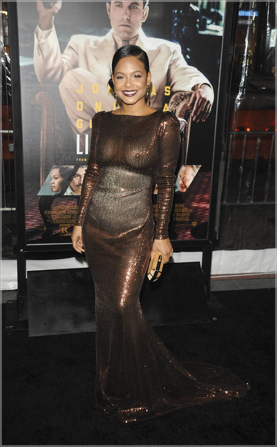 Christina Milian at Live By Night L.A. Premiere