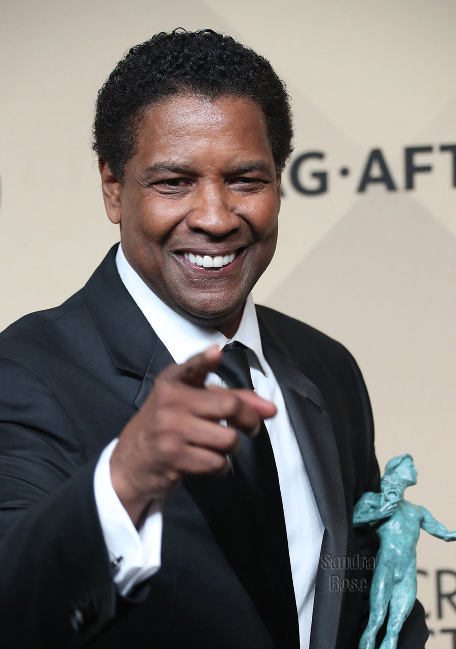 Denzel Washington at 2017 SAG Awards