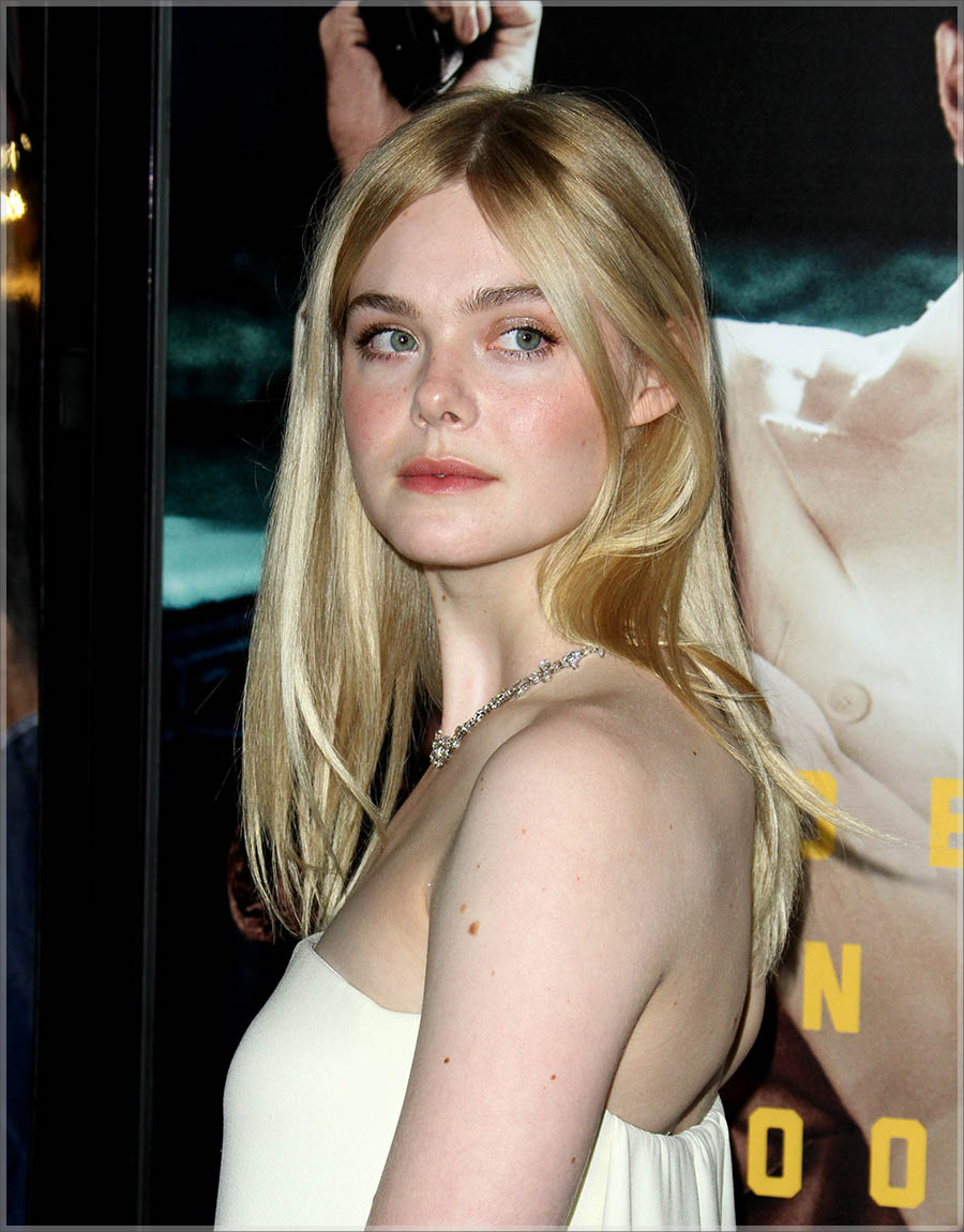 Elle Fanning at Live By Night L.A. Premiere