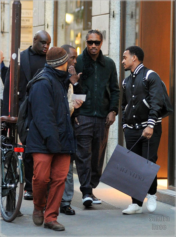 Future shopping in Milan