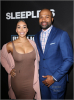 Gloria Govan, Derek Fisher at LA Premiere of SLEEPLESS