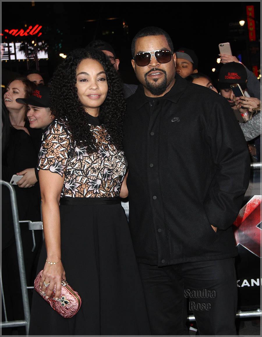 Ice Cube and wife Kimberly Woodruff