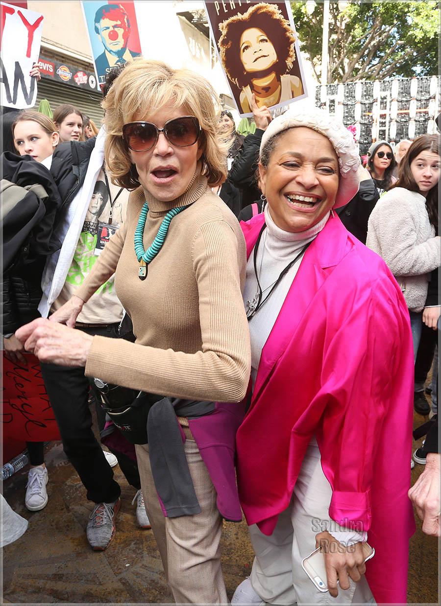 Jane Fonda, Debbie Allen