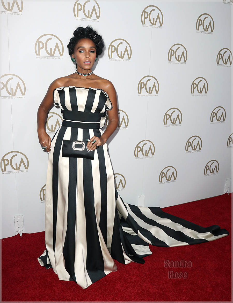 Janelle Monae at PGA Awards in Beverly Hills