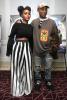 JJanelle Monae, Pharrell in Beverly Hills