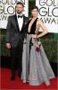 Justin Timberlake and Jessica Biel at Golden Globe Awards