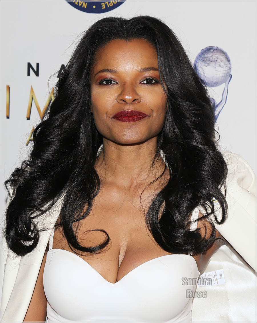 Keesha Sharp at NAACP Image Awards Luncheon