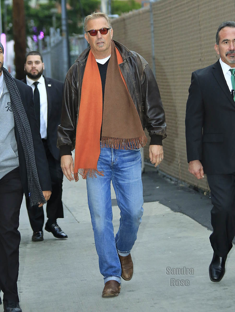 Kevin Costner in Los Angeles