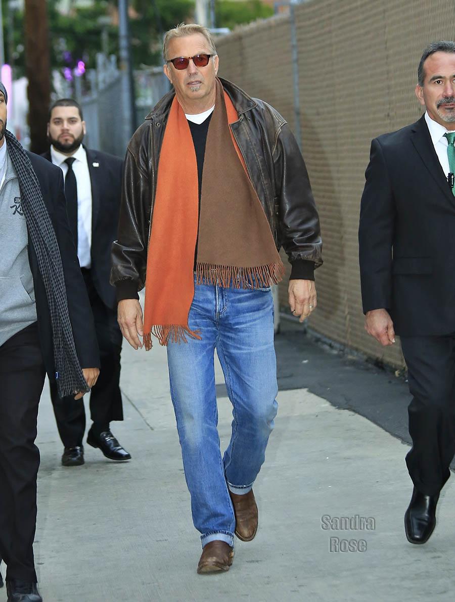 Kevin Costner in Los Angeles