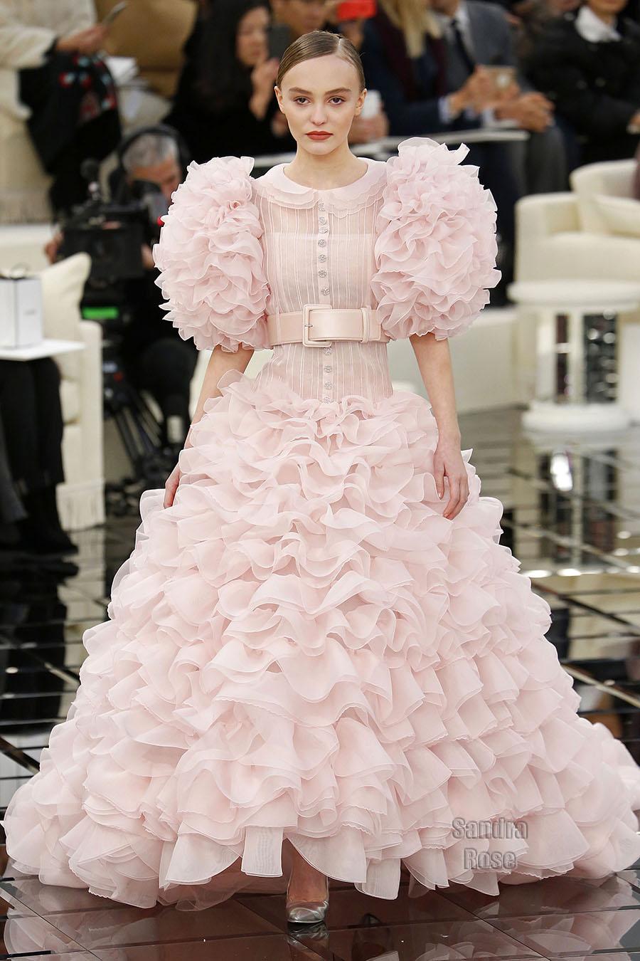 Karl Lagerfeld at Paris Fashion Week