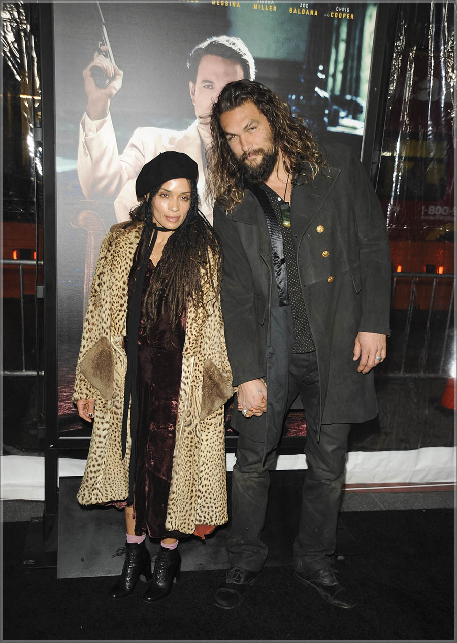Lisa Bonet and husband Jason Momoa