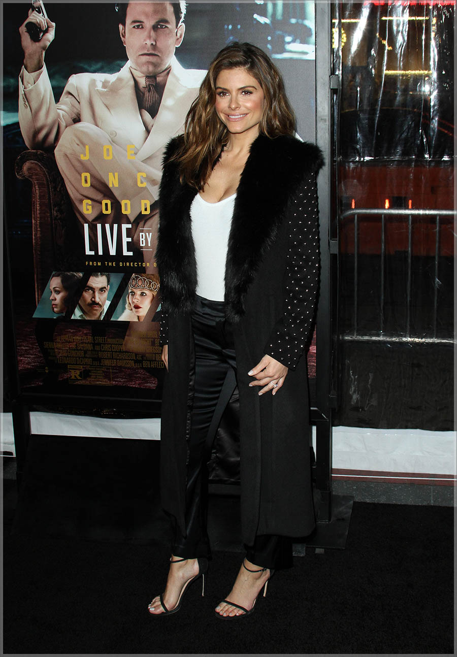 Maria Menounos at Live By Night L.A. Premiere