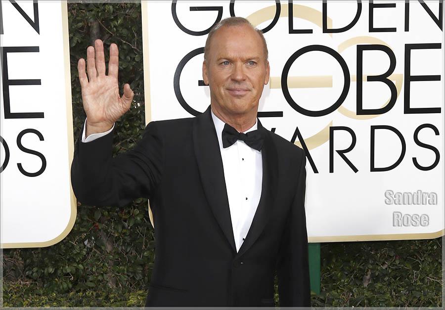 Michael Keaton at Golden Globe Awards