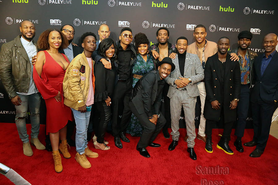 The New Edition Story Screening In Los Angeles Sandra Rose