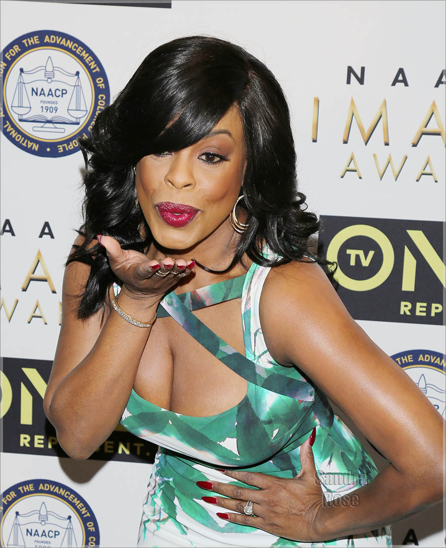 Niecy Nash at NAACP Image Awards Luncheon