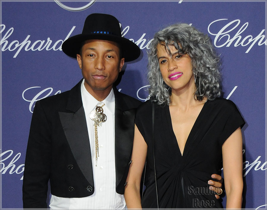 Pharrell Williams & Helen Lasichahn
