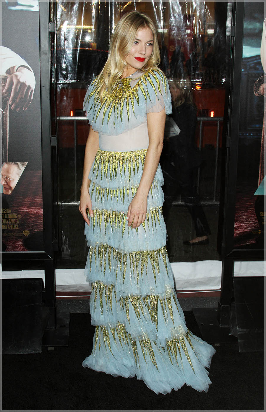 Sienna Miller at Live By Night L.A. Premiere
