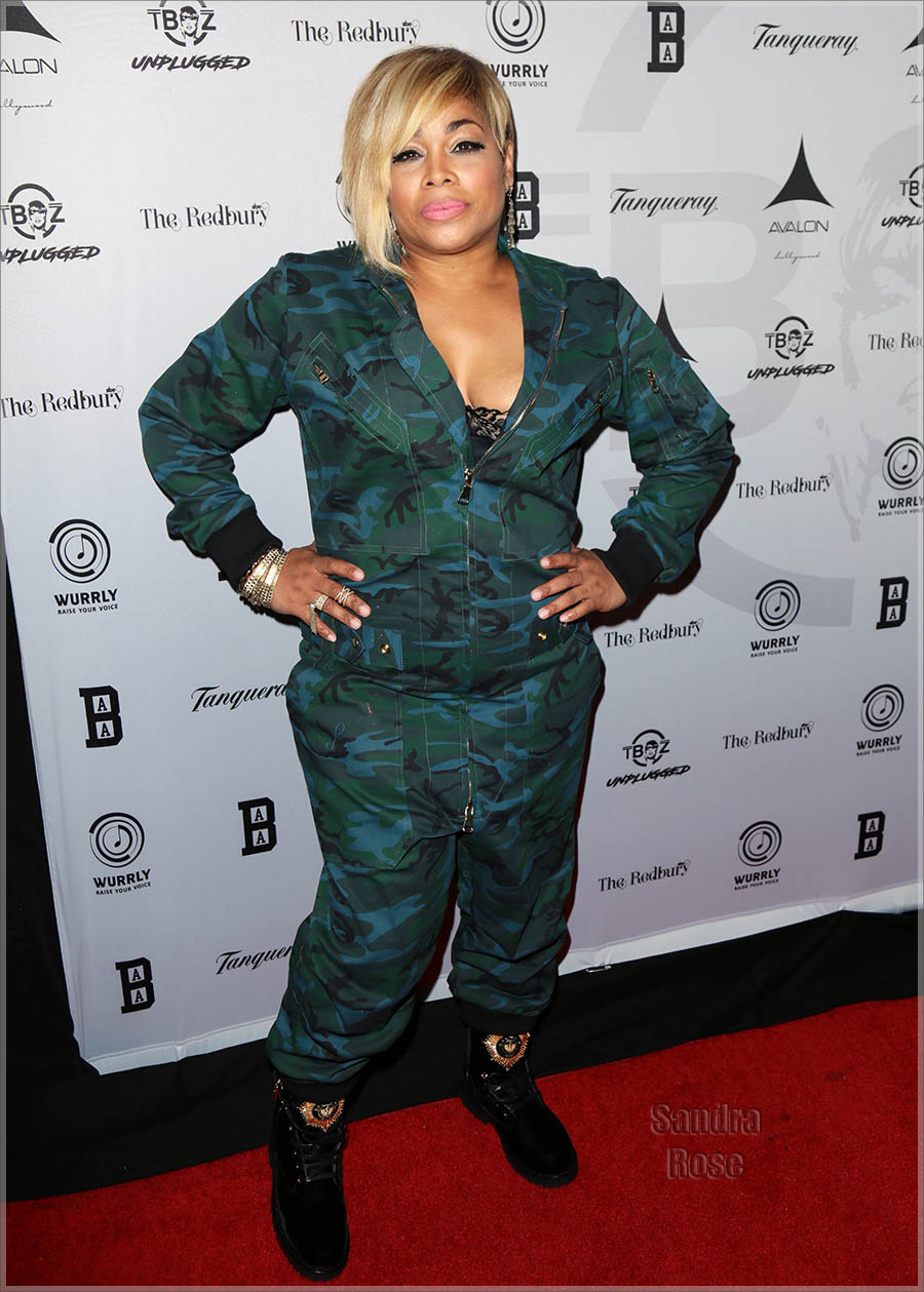 T-Boz in Hollywood