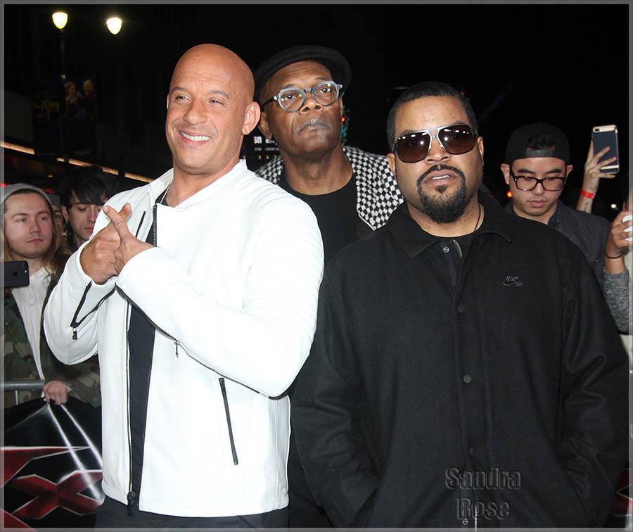 Vin Diesel, Samuel L. Jackson, Ice Cube