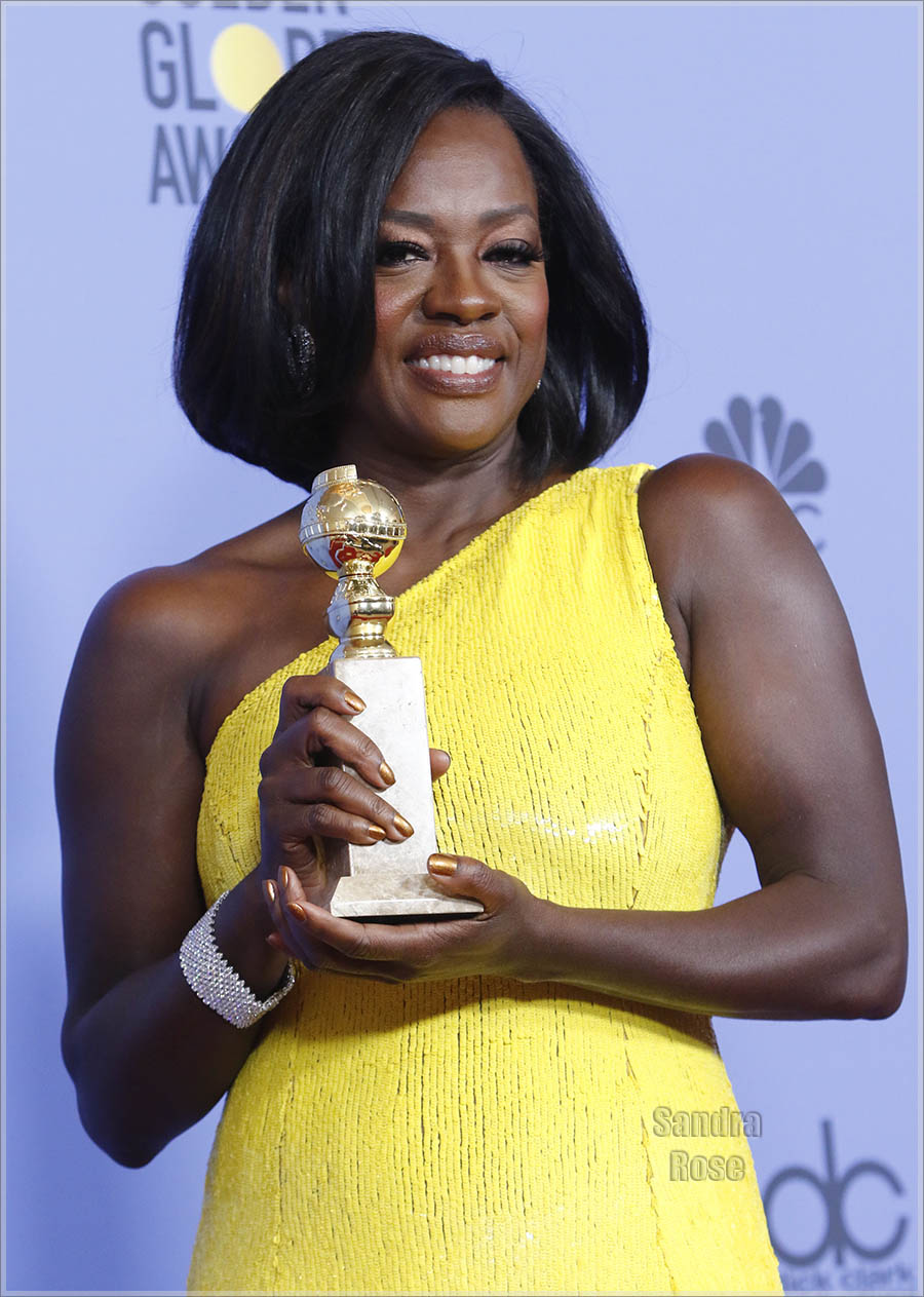 Viola Davis at Golden Globes