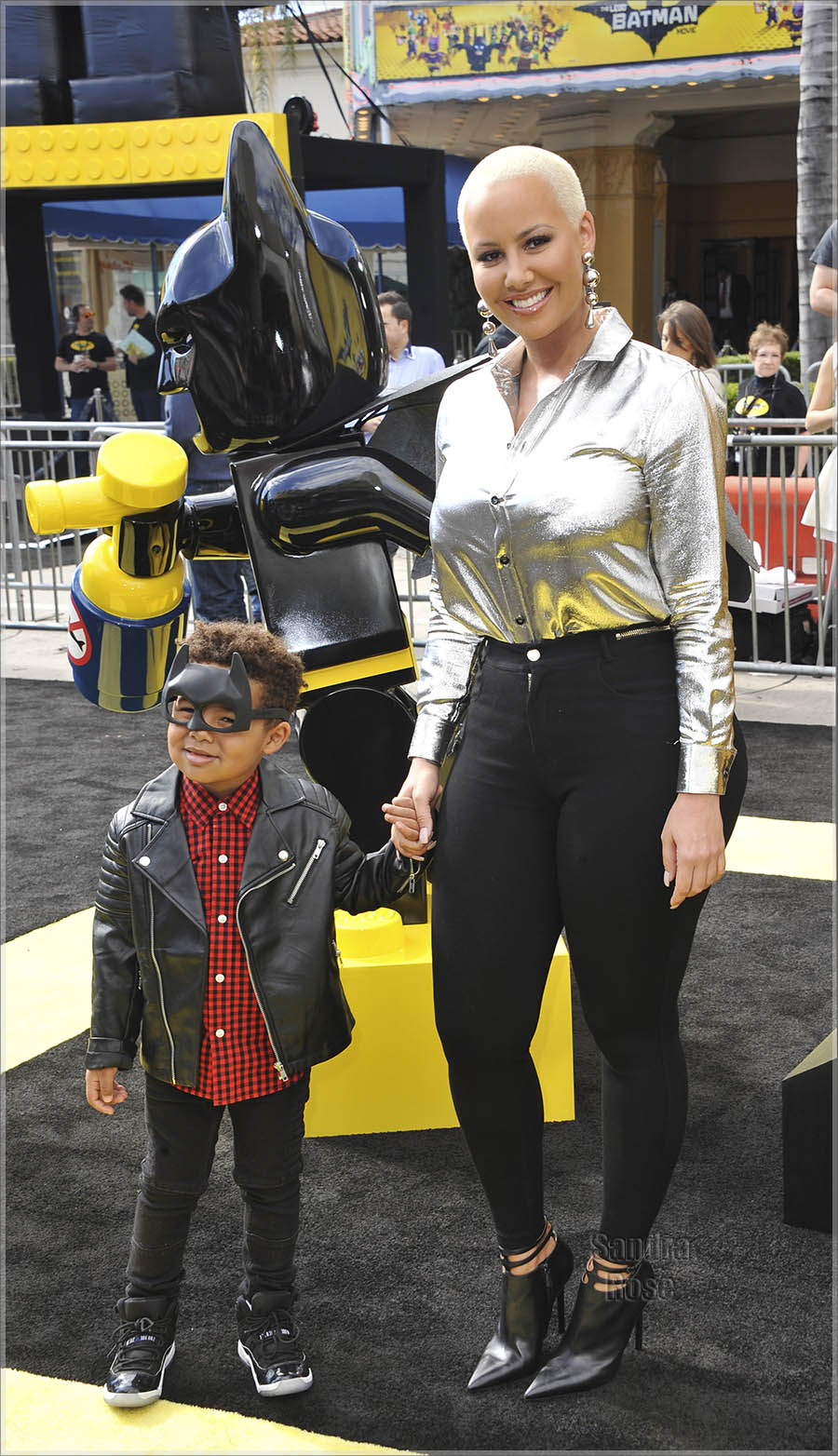 Amber Rose and Sebastian Taylor Thomaz