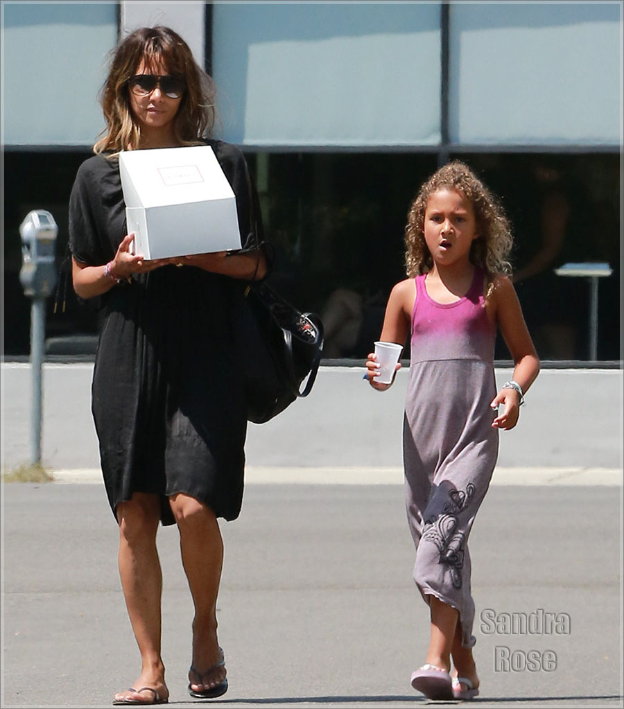 Halle Berry and daughter Nahla | Sandra Rose