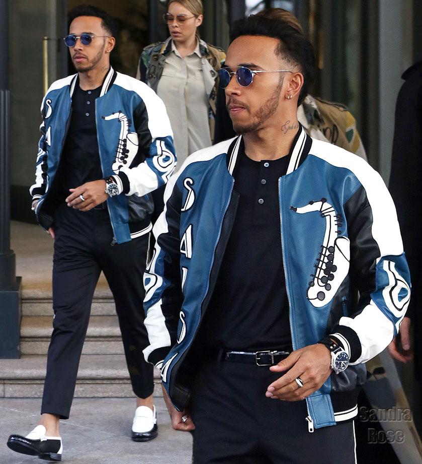 Lewis Hamilton Dolce & Gabbana