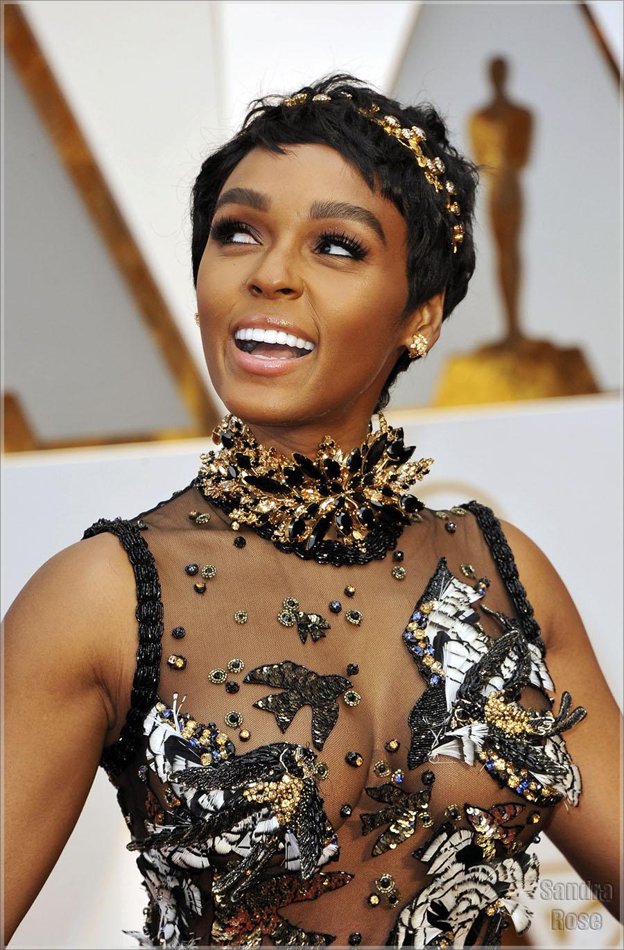 Oscars 2017 fashion - Janelle Monae Sandra Rose