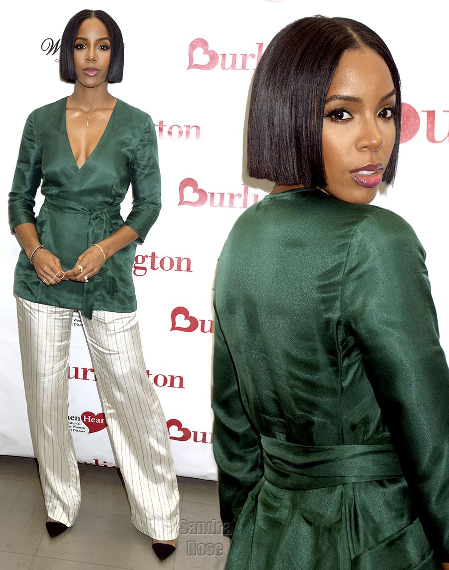 Kelly Rowland in NYC