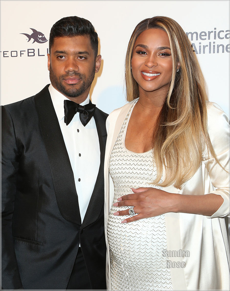Mr and Mrs Russell and Ciara Wilson