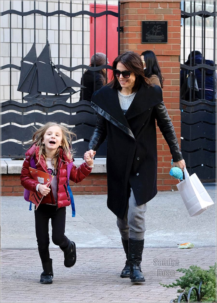 Bethenny Frankel and daughter Bryn