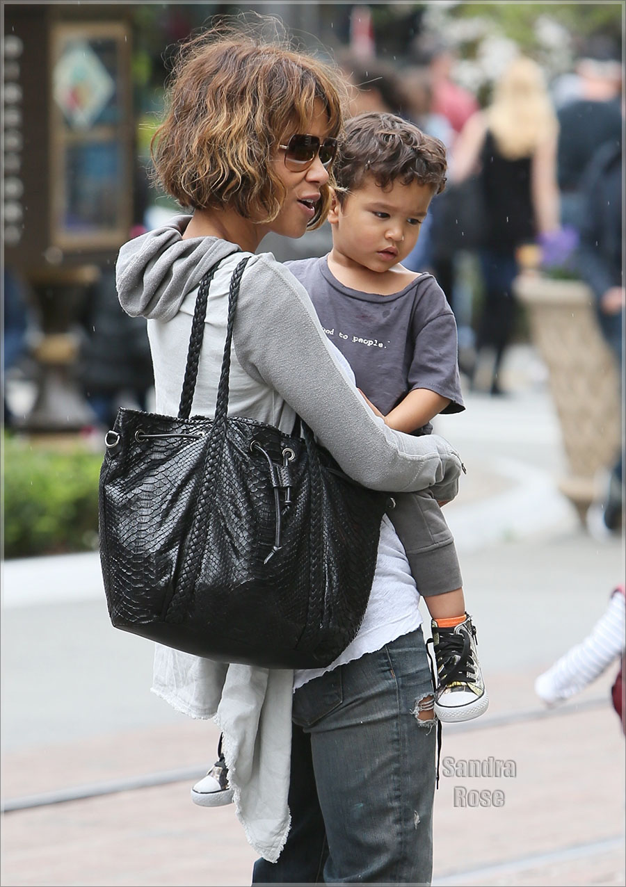 Halle Berry And Son Maceo Sandra Rose