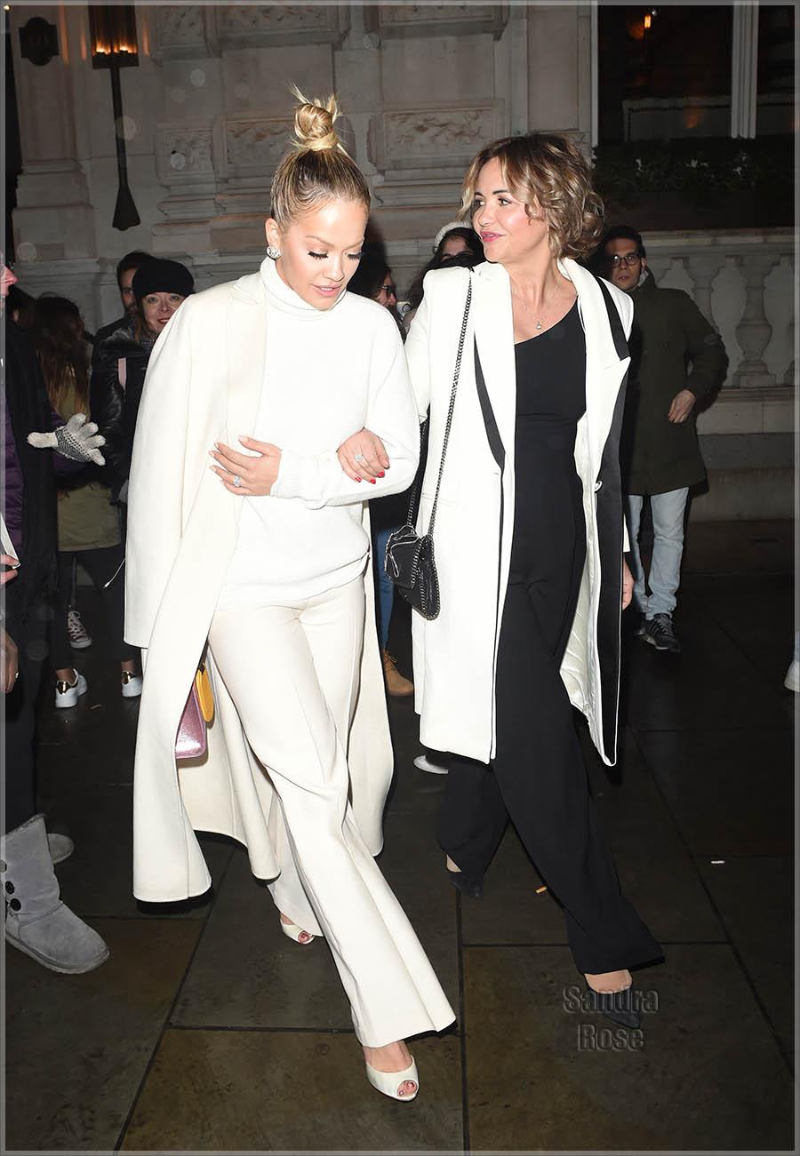 Rita Ora and Her Mum