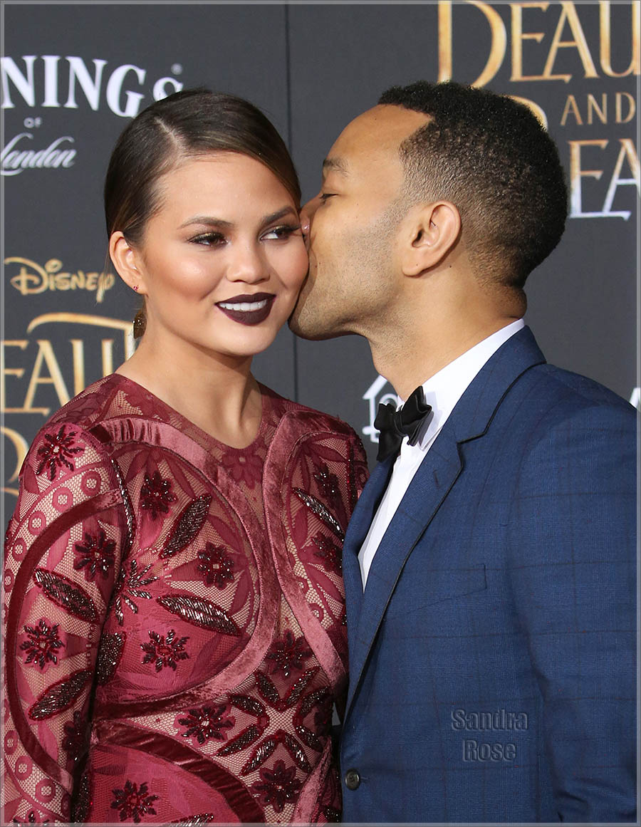 Mr and Mrs John Legend & Chrissy Teigen