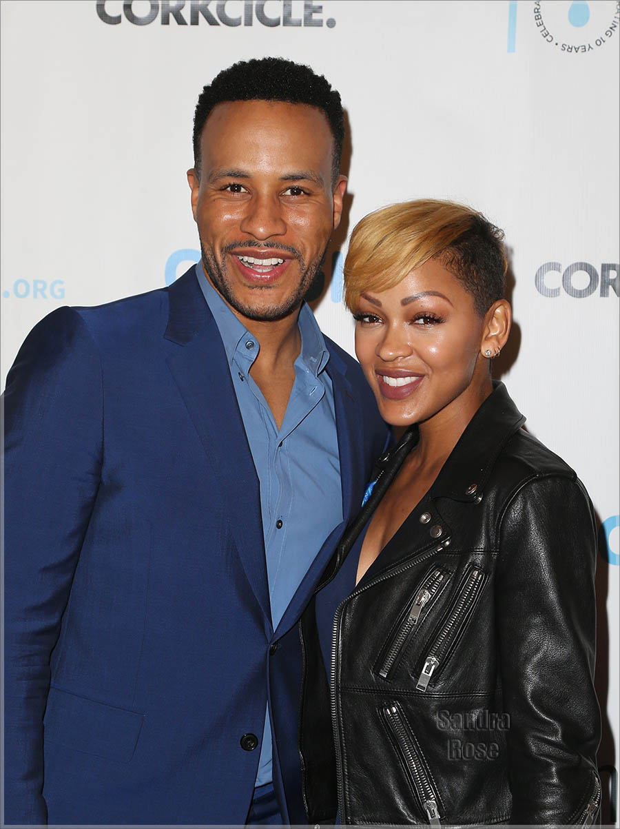 Mr and Mrs DeVon Franklin & Meagan Good