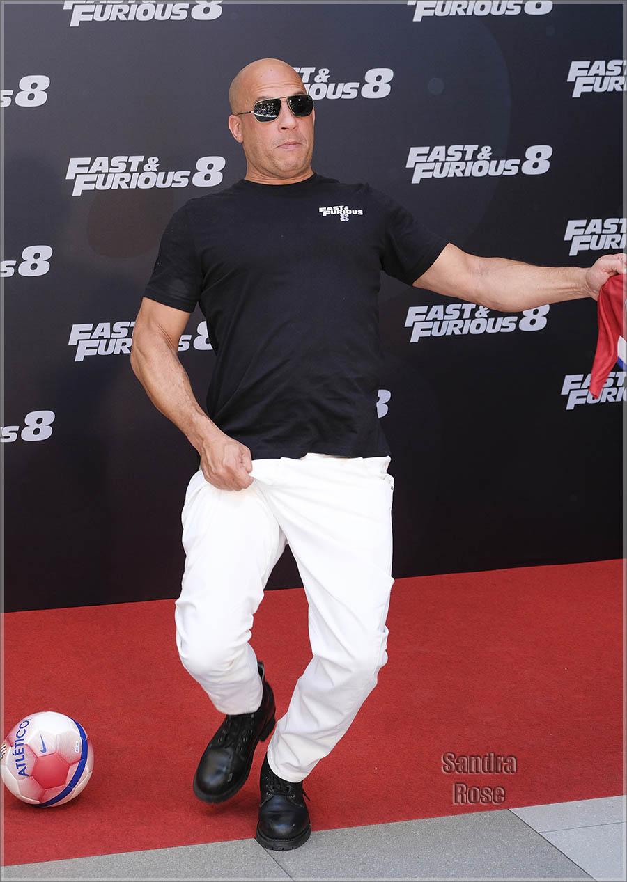 Vin Diesel | Sandra Rose