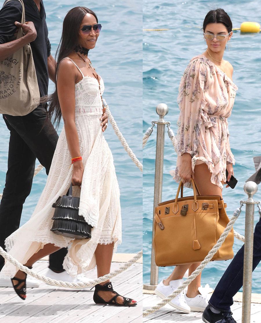 Model Naomi Duo 2 Bing Images: PICS: Naomi Campbell & Kendall Jenner, Salt N Pepa, Yara