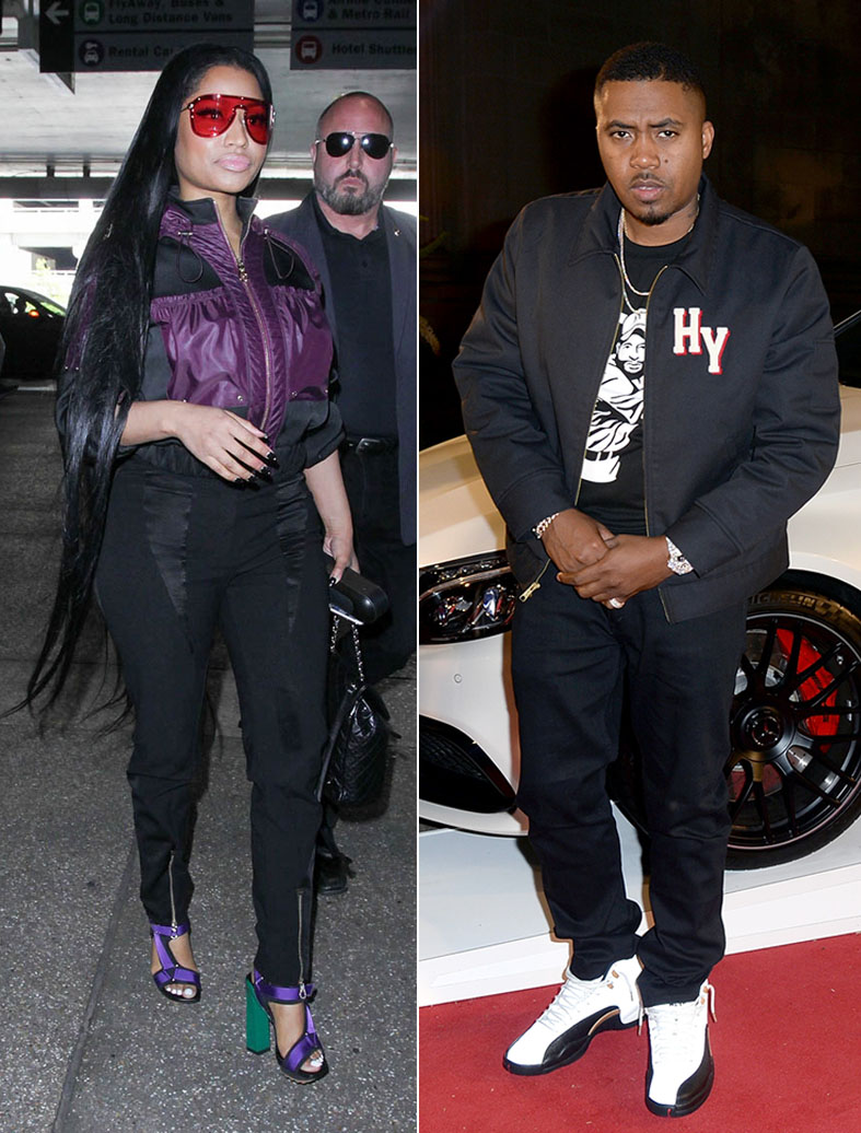 c0b62d663b3 Nicki Minaj Admits to  Sleepovers  With Rapper Nas