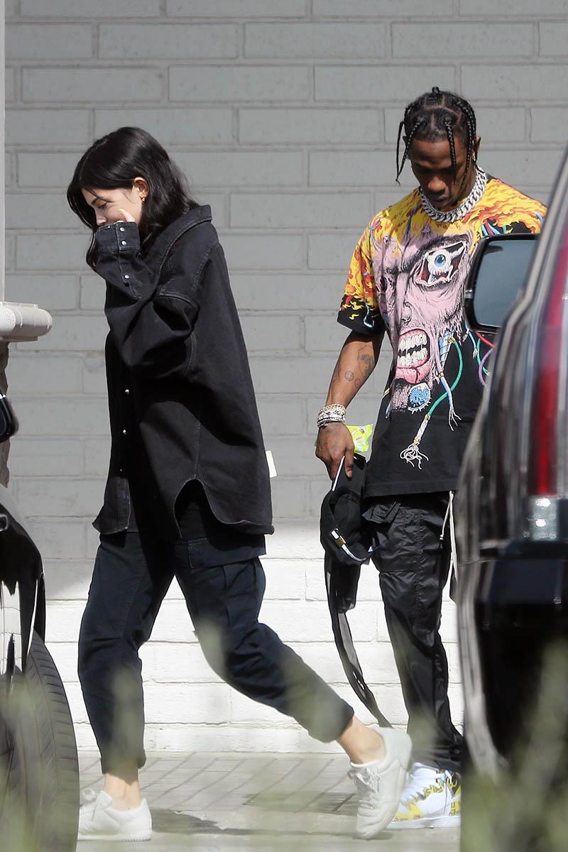 PICS: Djimon Hounsou, Mariah Carey, Kylie Jenner, Travis Scott ... Mariah Carey