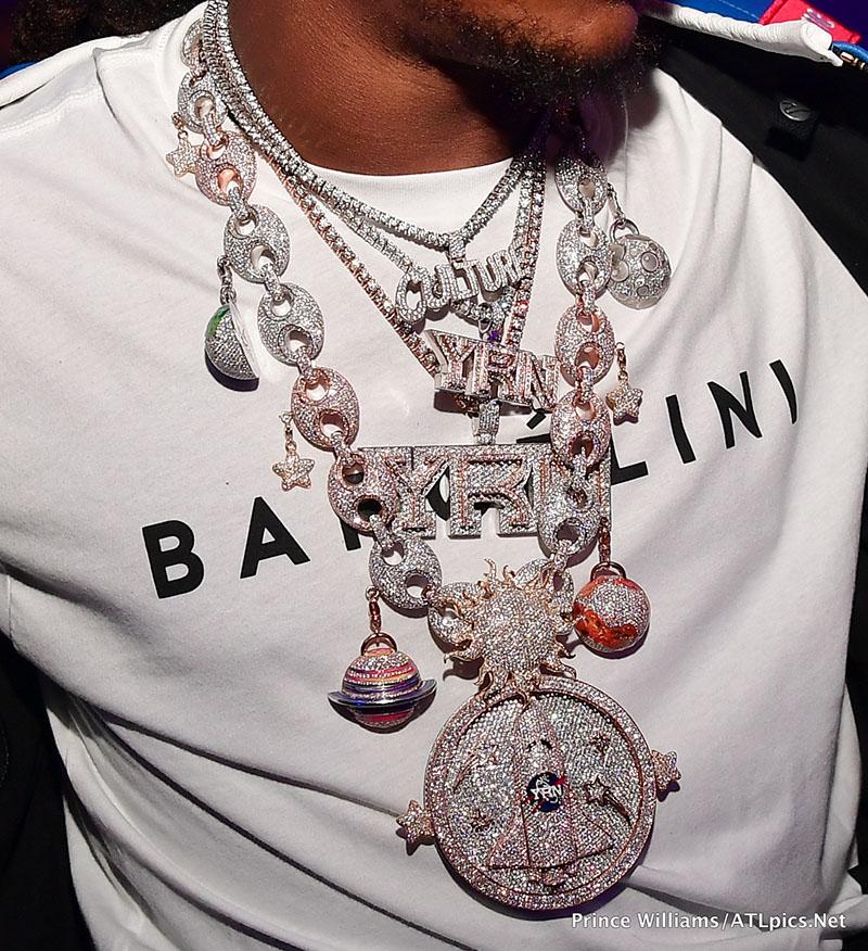 Takeoff migos jewelry detail | Sandra Rose