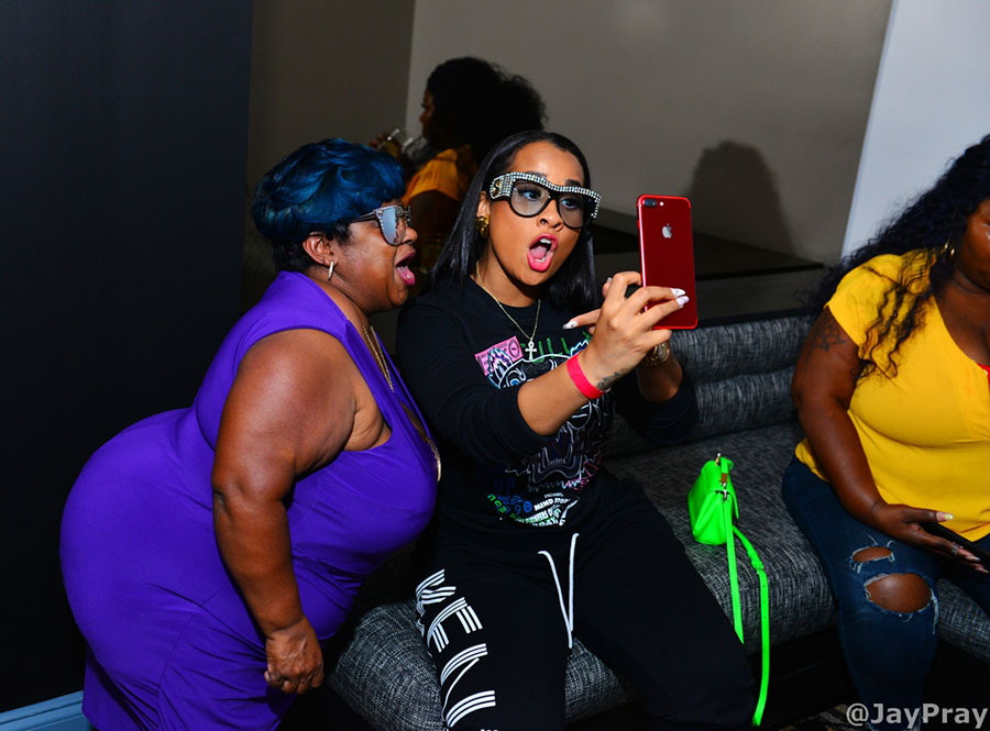 Pics Stars Attend Bossip Amp We Tv Launch Party