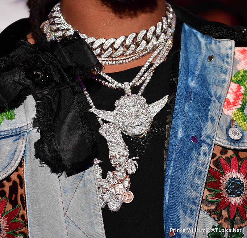 Quavo Migos Jewelry Detail Sandra Rose
