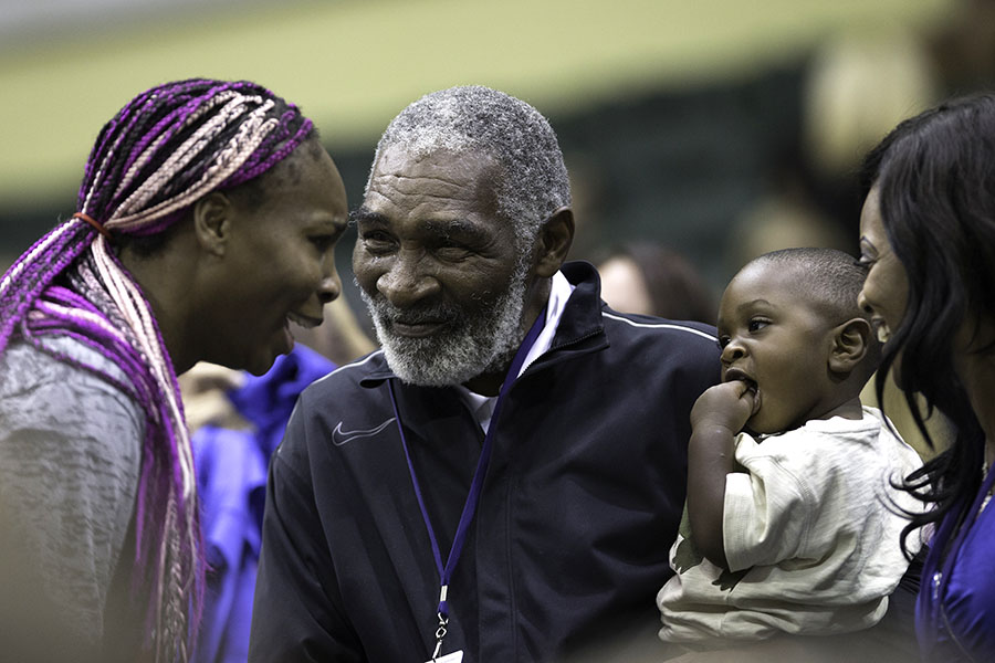 Serena Williams Richard Williams Lakeisha Graham