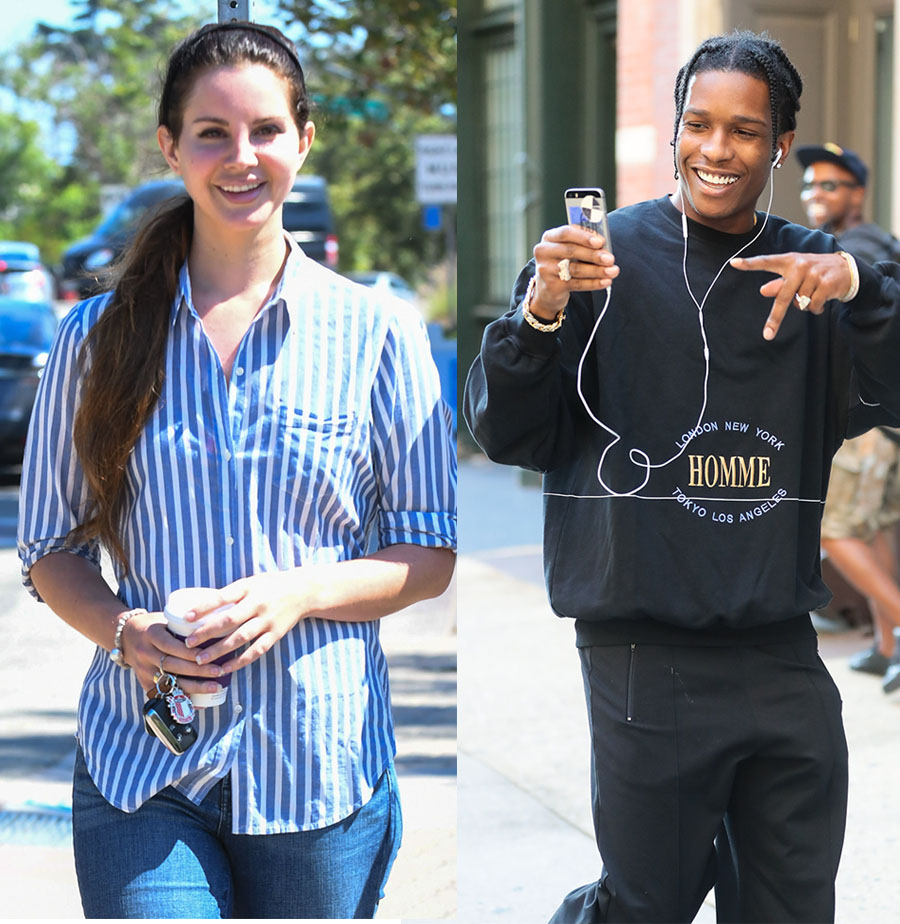 Asap Rocky And Lana Del Rey 2016