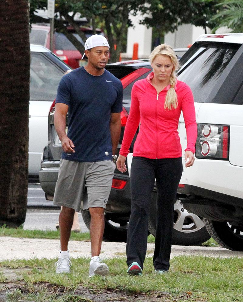 Tiger Woods, Lindsey Vonn, & Other Celebs Gear Up For